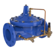 IPS Pressure Reducing Valves Irrigation Pumping Station