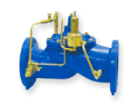 IPS Pressure Relief Valves Irrigation Pumping Station