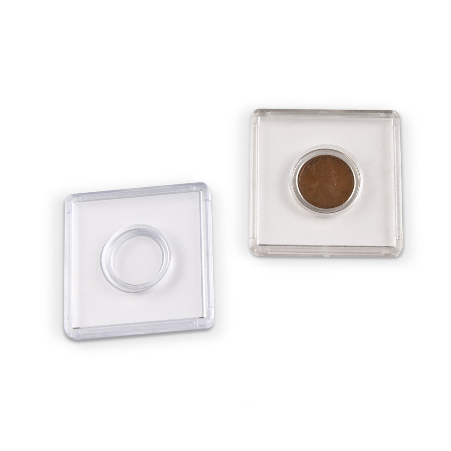 Polystyrene Penny Coin Holder Archival & Library Solutions