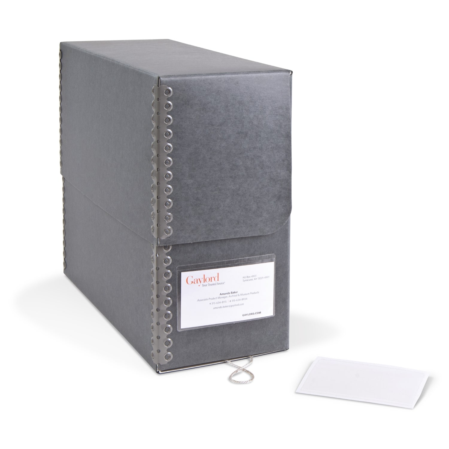 Polypropylene Label Holders Archival & Library Solutions