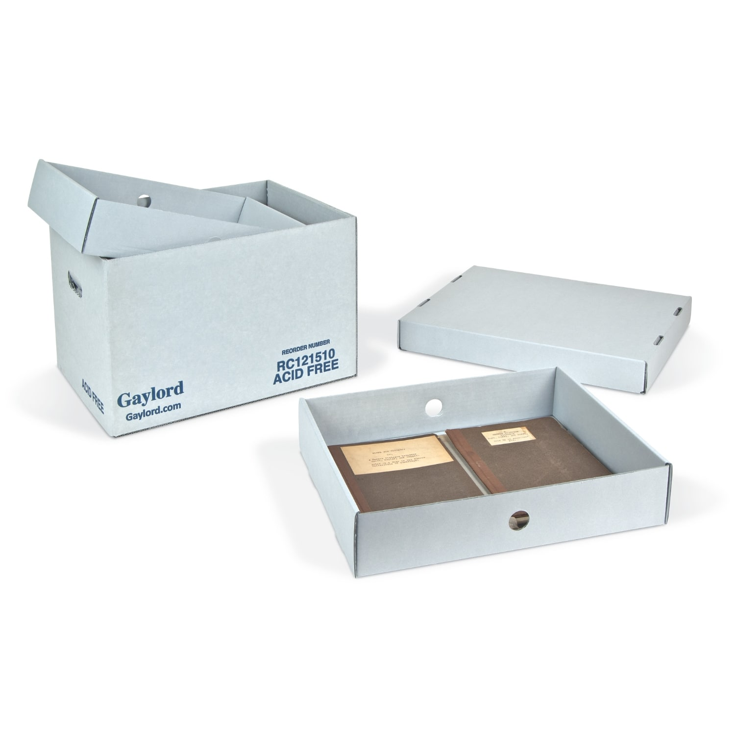 B-Flute Tray Archival & Library Solutions