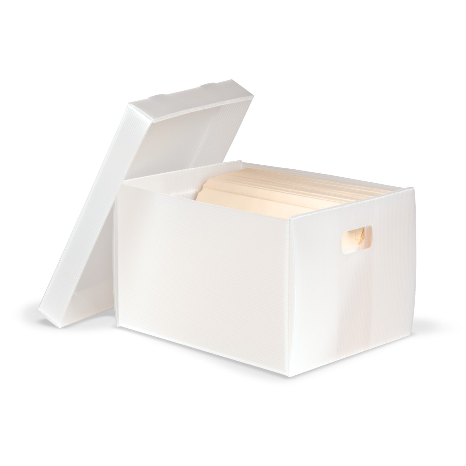 Corrugated Polypropylene Record Storage Carton Archival & Library Solutions