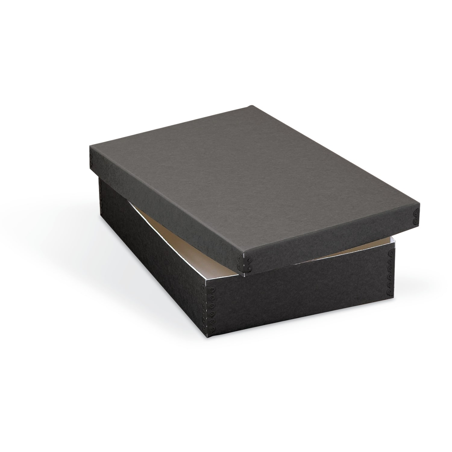 Shallow Lid Storage Box Archival & Library Solutions