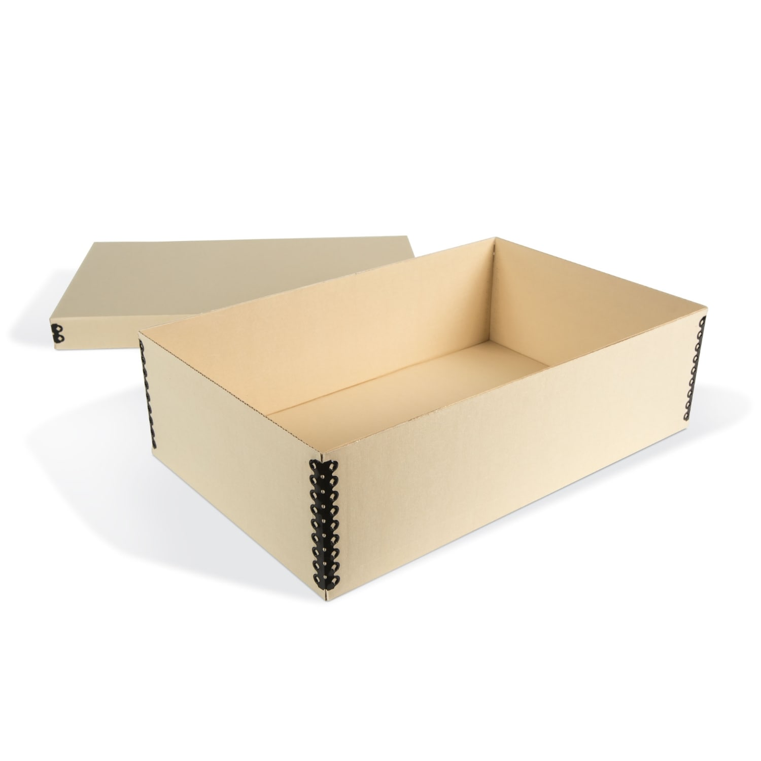 E-flute Shallow Lid Multipurpose Box Archival & Library Solutions