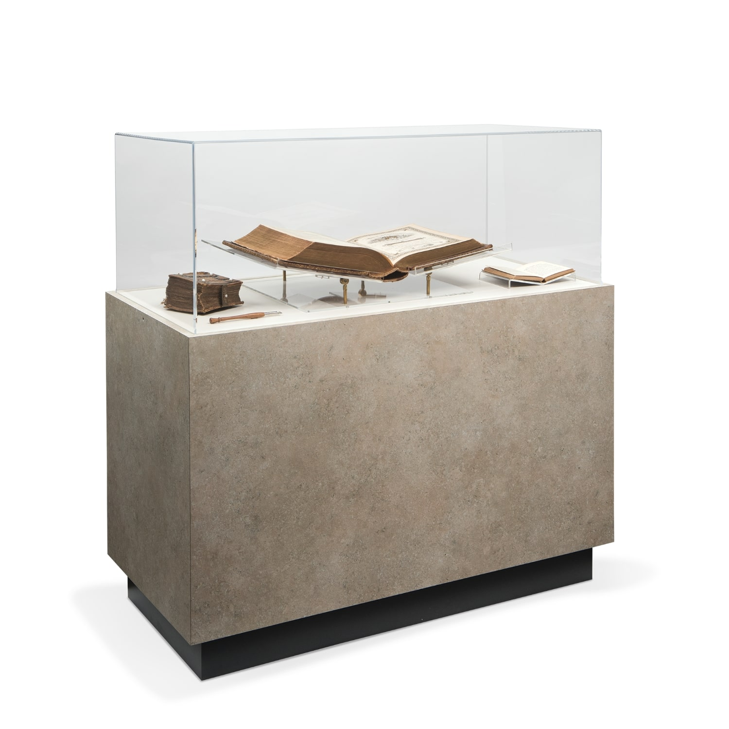 Pedestal Cases Archival & Library Solutions