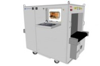 Ruggedized and Water Resistant Baggage Scanner for outdoor purpose 7555R Scanners & Detectors