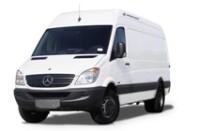 X-Ray Baggage Scanner in Ford/Mercedes Minivan Scanners & Detectors
