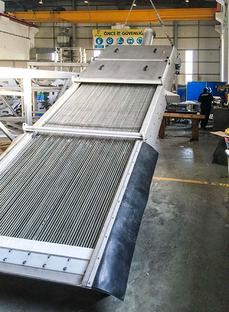 Wastewater Back Raked Mechanical Screens Pretreatment Screens & Screen Handling Equipments