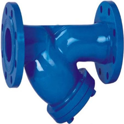 Y Type Strainers for Wastewater Sewage Network Pipeline Accessories
