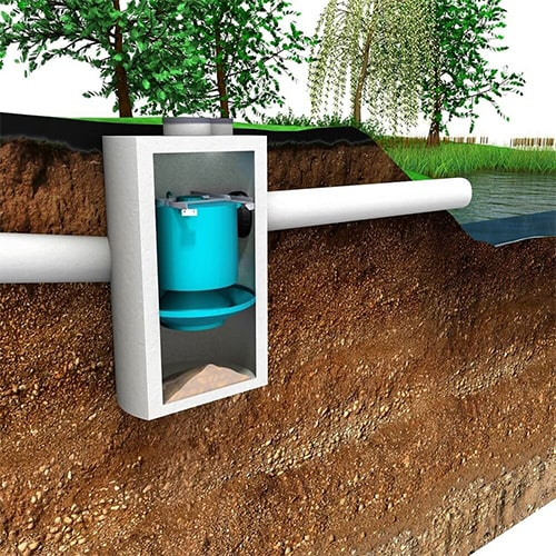 Hydrodynamic Separator for Wastewater Treatment Wastewater & Stormwater Speciality Products