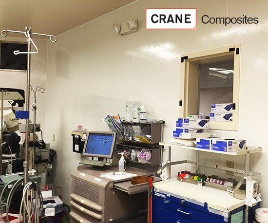 Hygienic FRP Wall Cladding Clean-Room Wall Panels Architectural Finishing Products