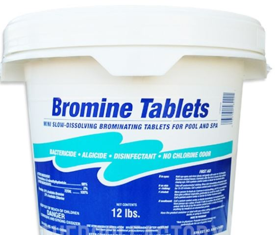 Water Treatment Bromine Tablets Water Treatment