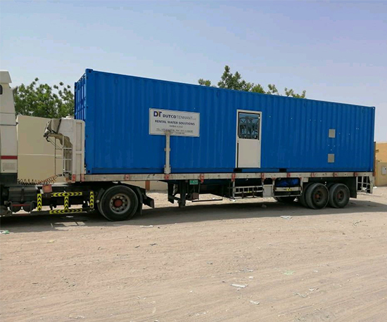 Containerized Reverse Osmosis Plant Water Treatment Rental Water Treatment Plant