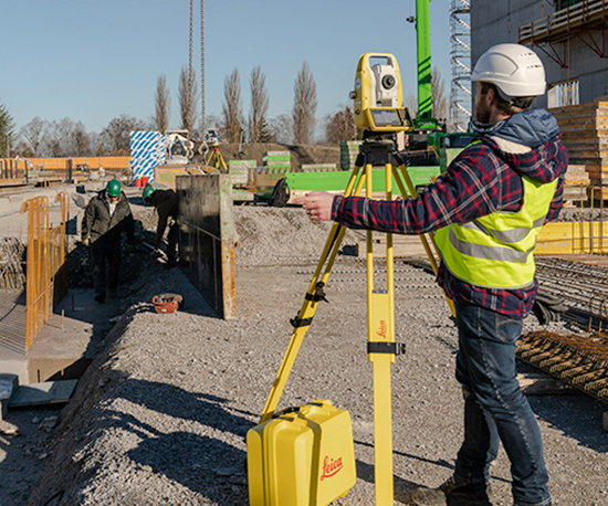 Leica iCON iCB50  - Manual Total Stations Civil Infrastructure