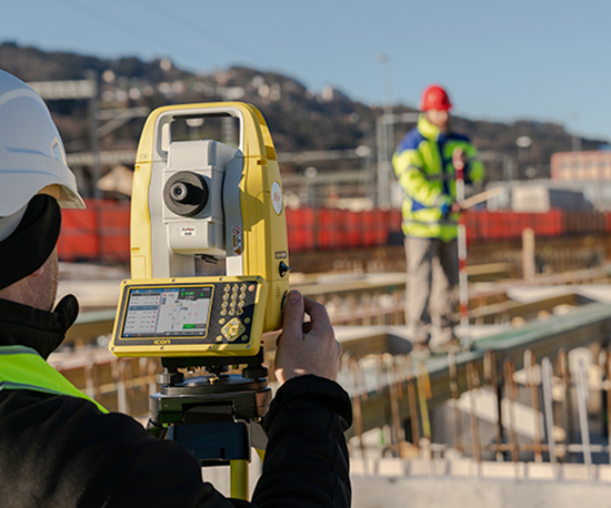 Leica iCON iCB50  - Manual Total Stations 2