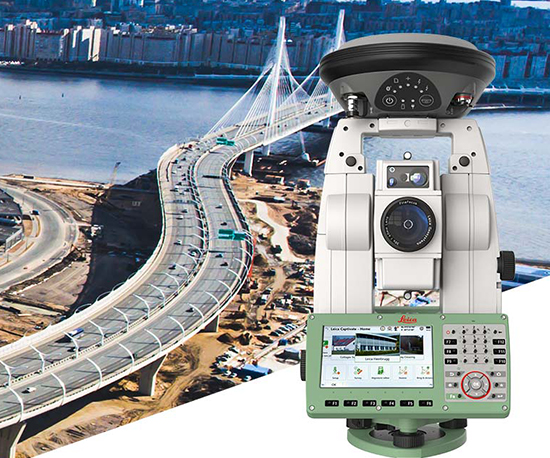 Leica SmartStation Surveying Solutions