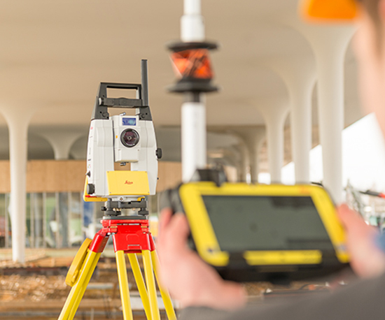 Leica iCON iCR80 Surveying Solutions