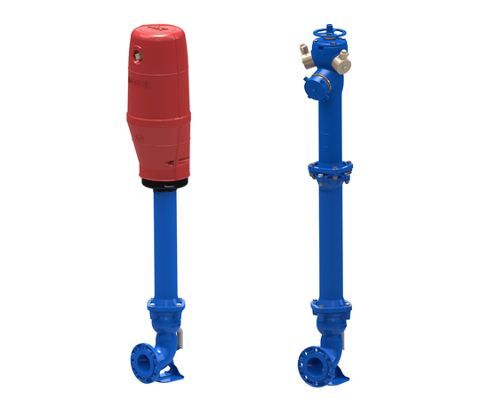 NF Hydrants Infrastructure & Pumping Station Networks