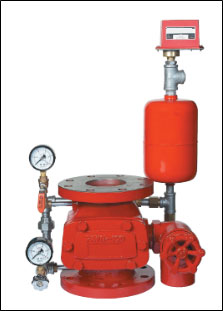 Alarm Check Valves Industrial Units, Warehouses & Fuel Stations