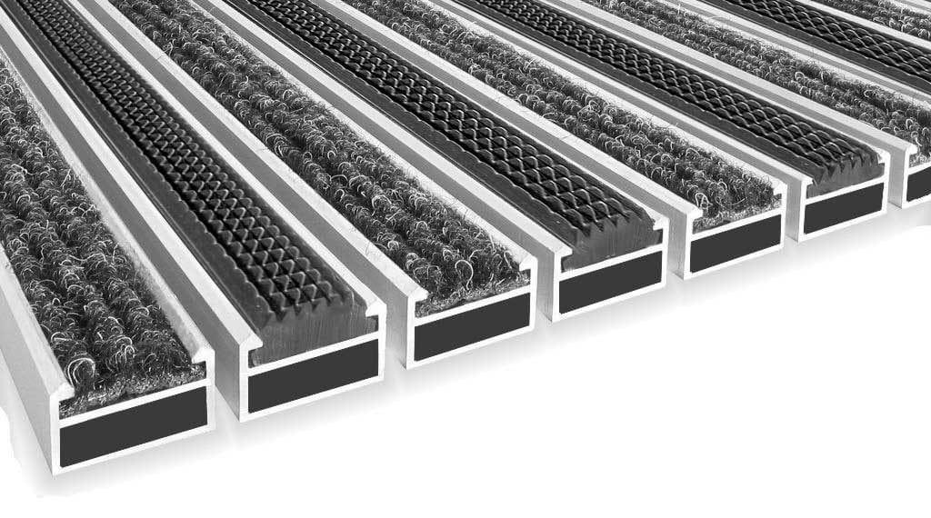 Aluminium Entrance Matting System Architectural Finishing Products