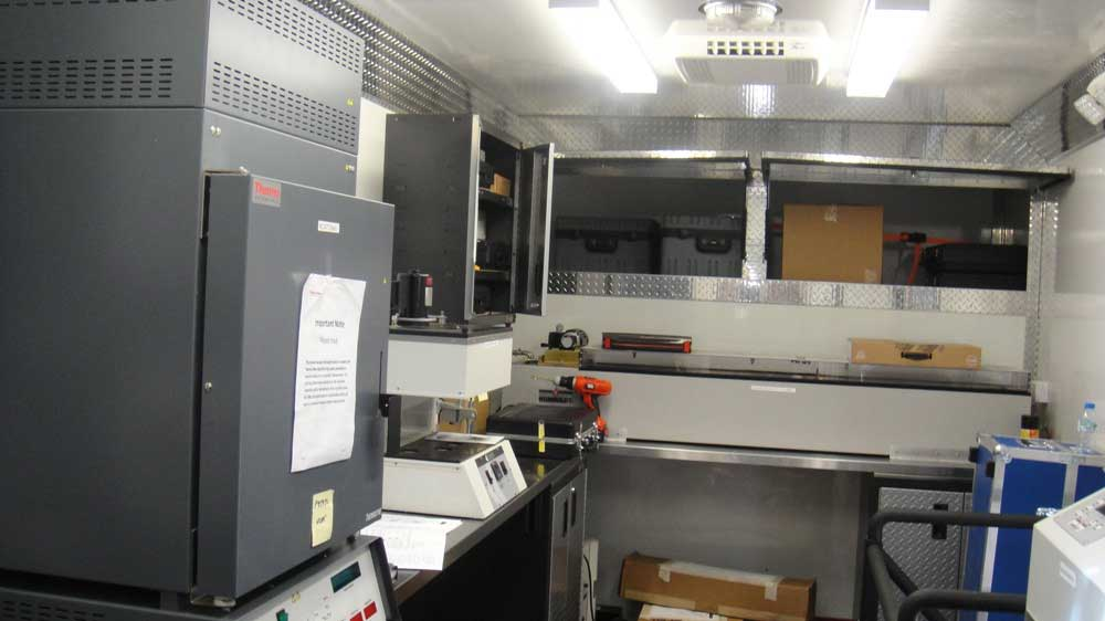 Construction Lab Mobile Laboratory