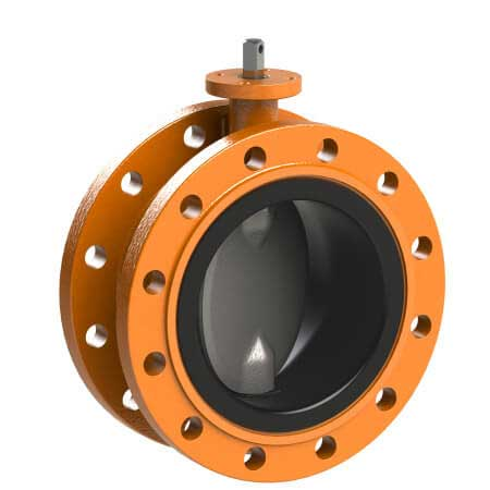 Concentric Type Butterfly Valve - Rubber Lined Potable Water