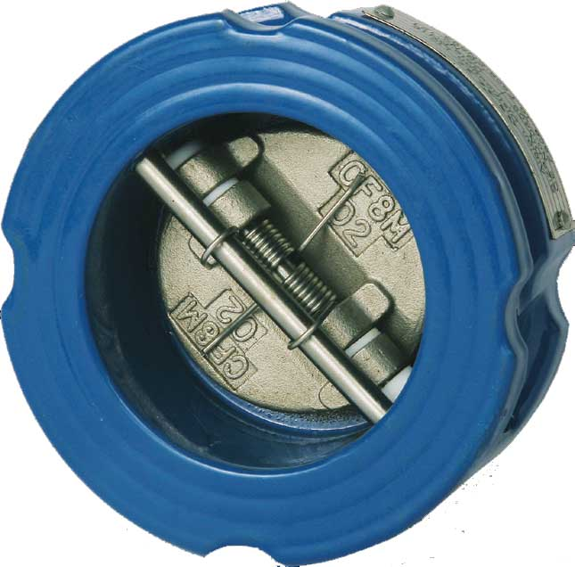Dual Plate Check Valve - Ductile Iron Plumbing Products