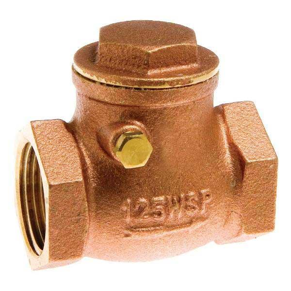 Swing Check Valve - DZR Brass Plumbing Products