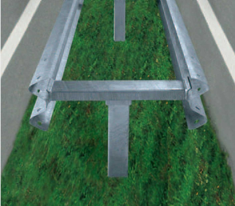 Classical Guard Rails Civil Infrastructure