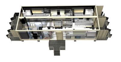 Modular Biosafety Lab ( BSL) Mobile Laboratory