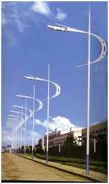 Decorative Steel Poles Road Networks