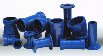 DI Flanged Type Fittings Sewage
