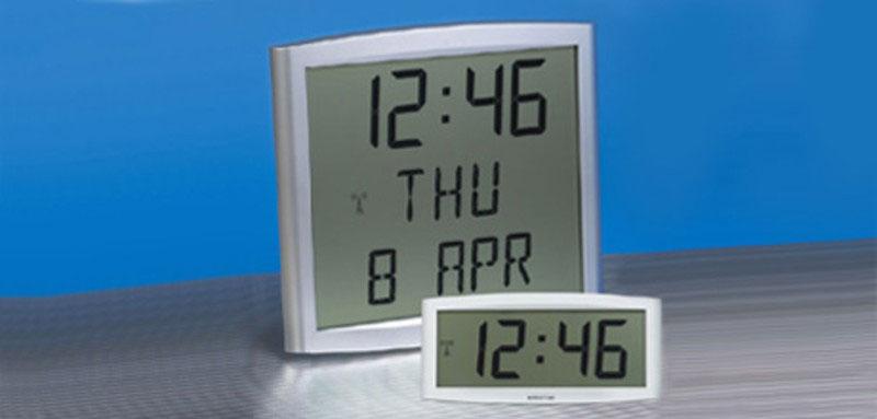 Digital Clocks - Time & Date Mobatime Master Clock System