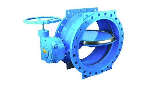 Double Eccentric Type Butterfly Valves Water Transmission - High Pressure Line