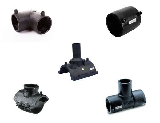 HDPE Electrofusion Pipe Fittings Water Transmission & Distribution