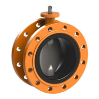 Flanged Butterfly Valve Water Transmission & Distribution