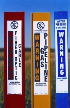 Flexible Marker Post Potable Water