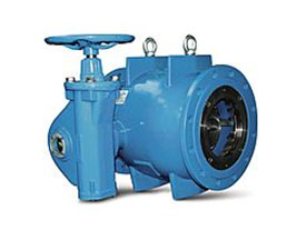 Flow Control Valve - Axial Type Water Transmission - High Pressure Line