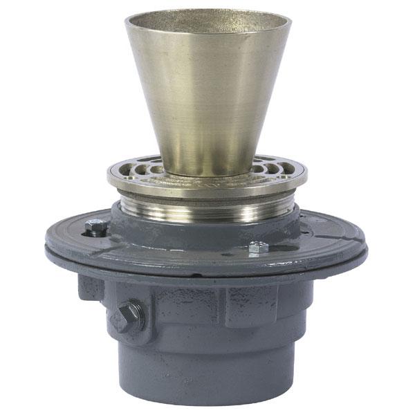 Funnel Floor Drain Plumbing Products