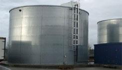 Galvanised Steel - Water Tanks Industrial Units, Warehouses & Fuel Stations
