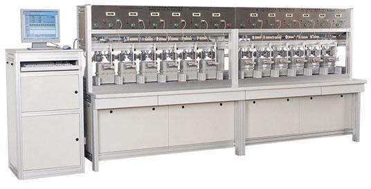 Gas Meter Test Bench Gas Distribution