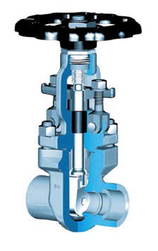 High Pressure Gate Valves Water and Electricity Production