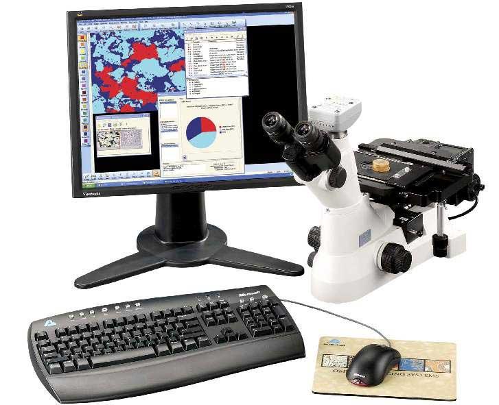 Software Metallography Lab Equipment
