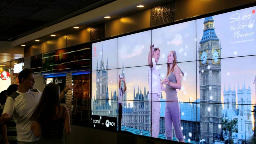 Interactive Video Wall Digital Signage & Video Wall