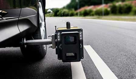 Retro Network Survey Equipment & Data Collection Vehicle