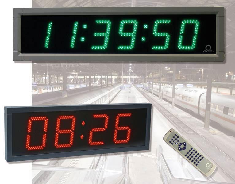 Outdoor Digital Clocks Mobatime Master Clock System