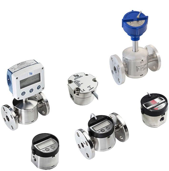 Oval Gear Flow Meter Process Instrumentation