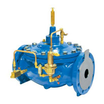 Pilot Operated Globe Type Control Valve Water Transmission - High Pressure Line