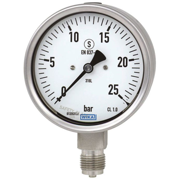 Pressure Gauge Process Instrumentation