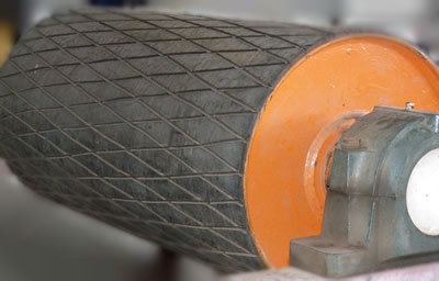 Pulley Lagging Material Handling Products